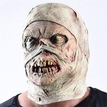mascara latex Scary Halloween Mask Skull Scary mascaras de terror Halloween Party Props Haunted House Creepy Cosplay zombie mask