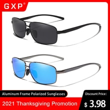 GXP Aluminum Frame Polarized Ultralight High Quality Sunglasses Men Women UV400 Mirror Lens Classic