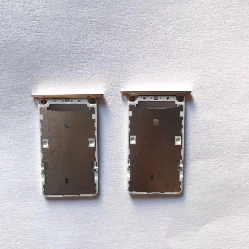 (5piece) For XIAO MI note4 RED MI NOTE4 Sim Card Reader Tray Socket Slot Holder Single Dual SIM Replacement Part