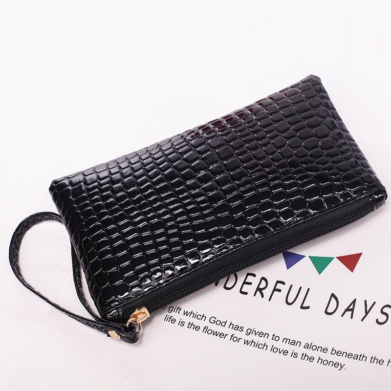Women Wallets Fashion Lady Wristlet Handbags PU Money Bag Fallow Coin Purse Cards ID Holder Clutch Woman Wallet