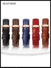 Quality Genuine Leather Watch Band 13mm 14mm 16mm 17mm 18mm 19mm 20mm  Men Watchbands For DW Daniel Wellington Watch Strap Women