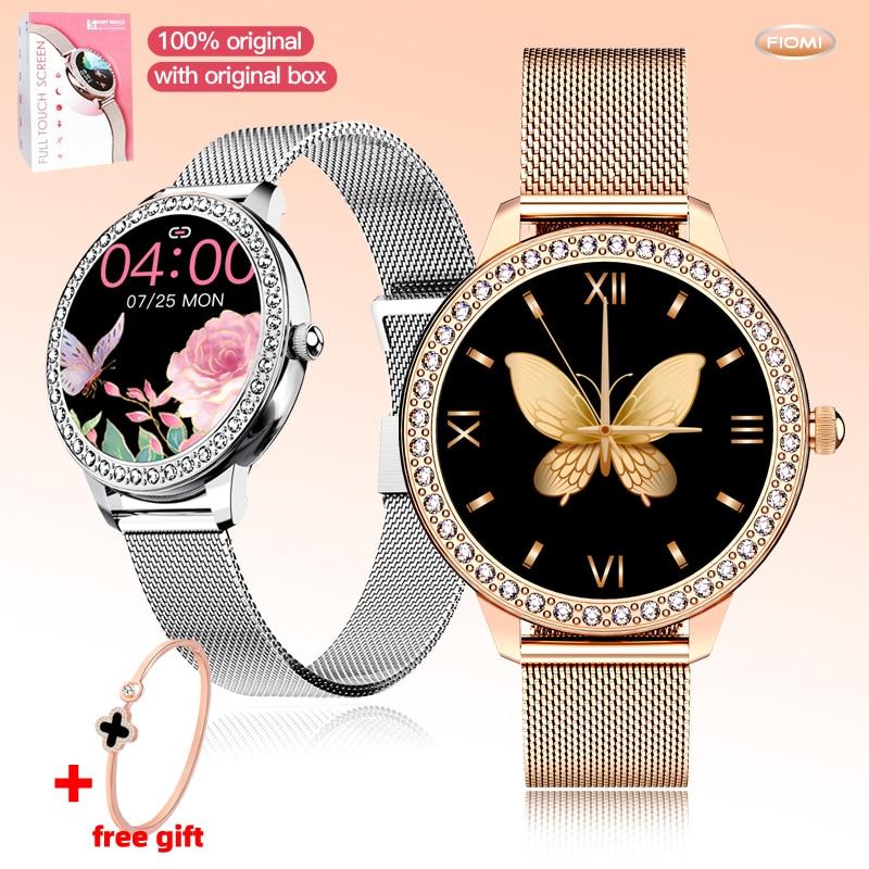 S91Fashion Diamond Smart Watch touch Women Sport Watches Heart Rate Monitor Wristband Fitness Pedome