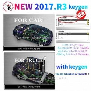 Image 5 - 2021 Новое поступление 2017.R3 2016.R0 keygen vd ds150e cdp Bluetooth vd tcs cdp автомобили/грузовики OBD диагностический инструмент для дельфиса