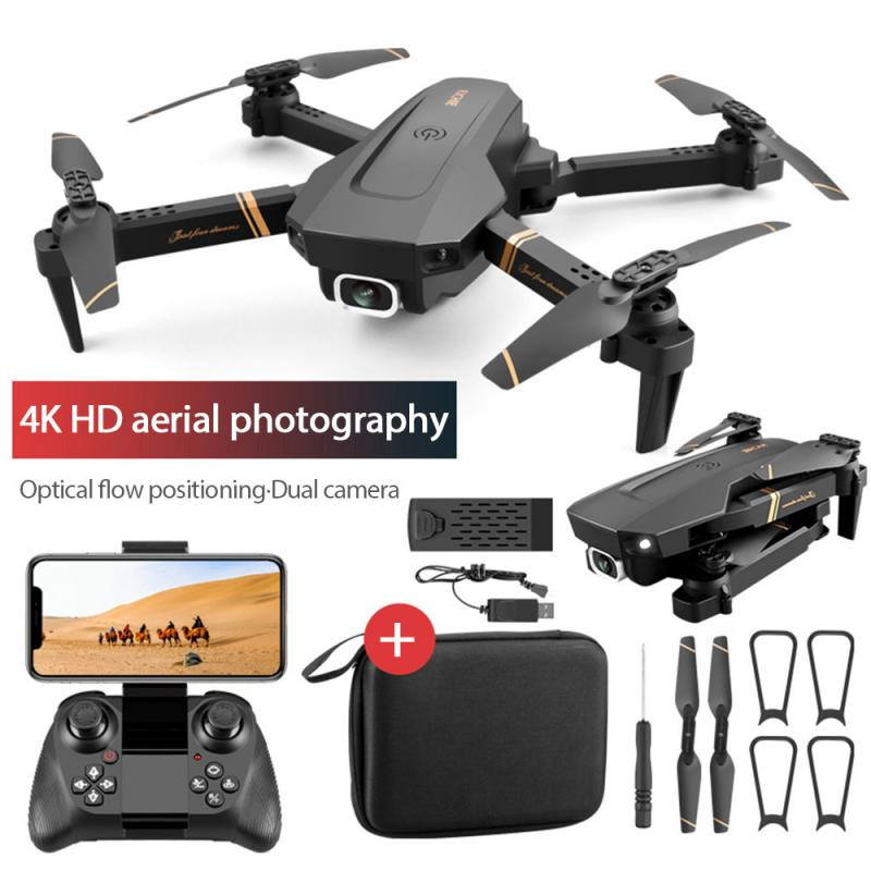 Rc Drone 4k HD Camera WiFi Fpv Drone Dual Camera Quadcopter Real Time Transmission Helicopter Toys D