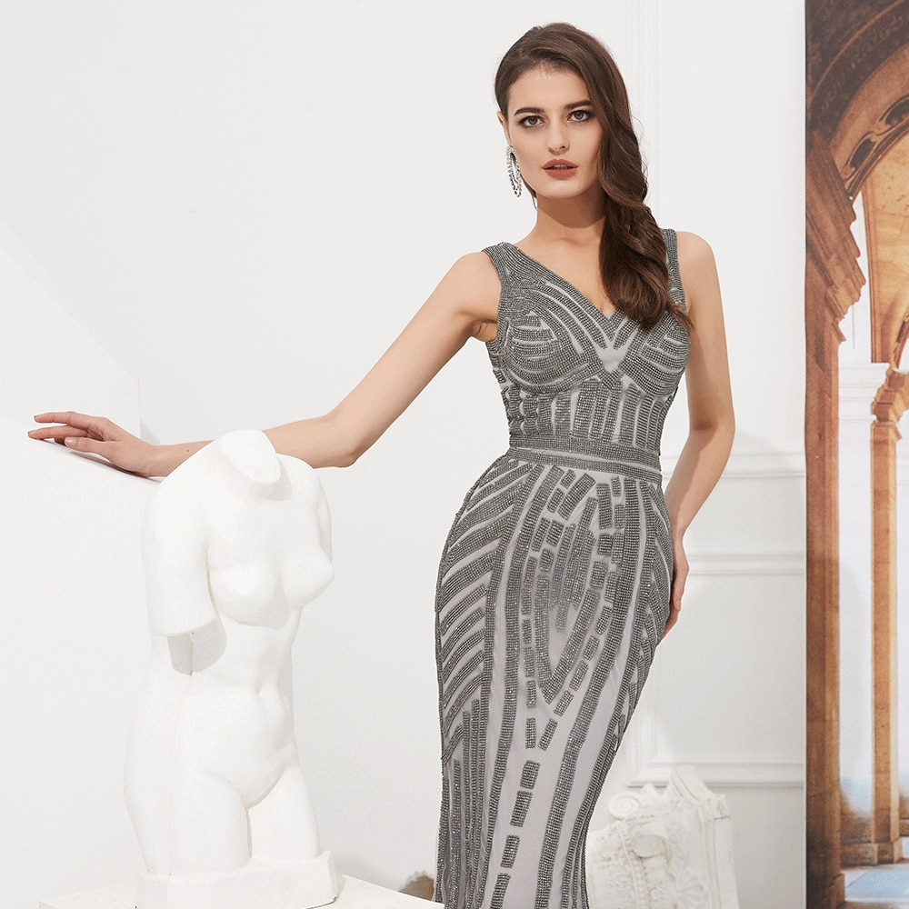 2019 Sexy Elegant Evening Dresses Long Pretty Formal Party Gowns