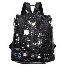 Nylon Cloth Waterproof Backpack School Bags 2021 Casual Large Capacity Women's Anti-Theft Laptop Bag