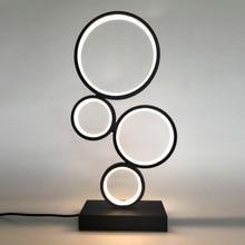 Modern LED Table Lamp Living Room Reading lighting Decoration Desk Lamp EU/US Plug