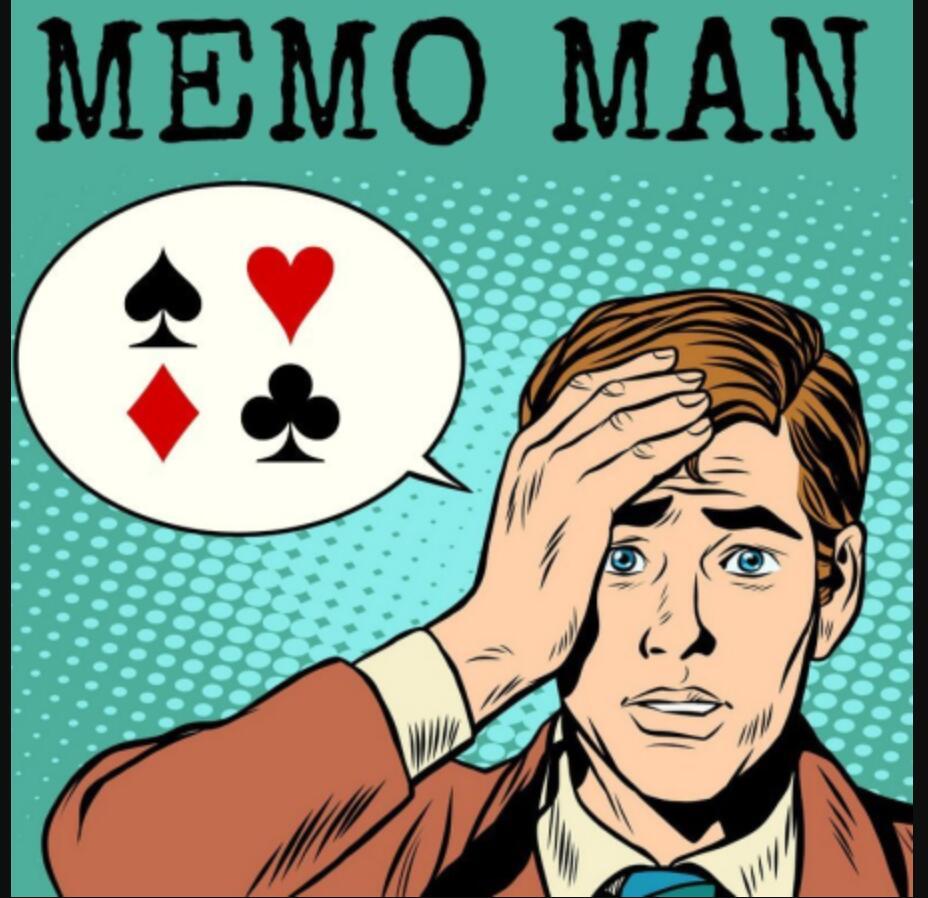 Memo Man-trucos de magia de La Ville, sin accesorios