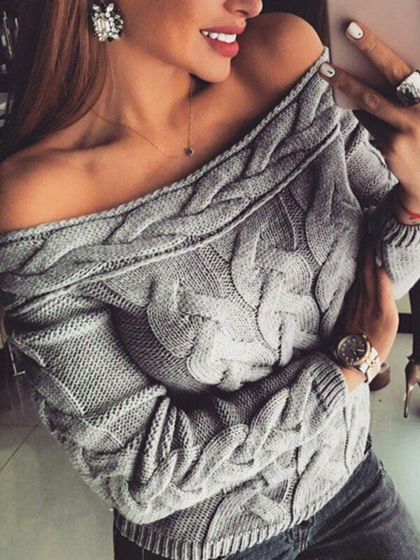 Mode Herbst Winter Sommer Frauen Pullover Gestrickte Langarm Pullover Casual Urlaub Täglichen Leben Damen Kleidung