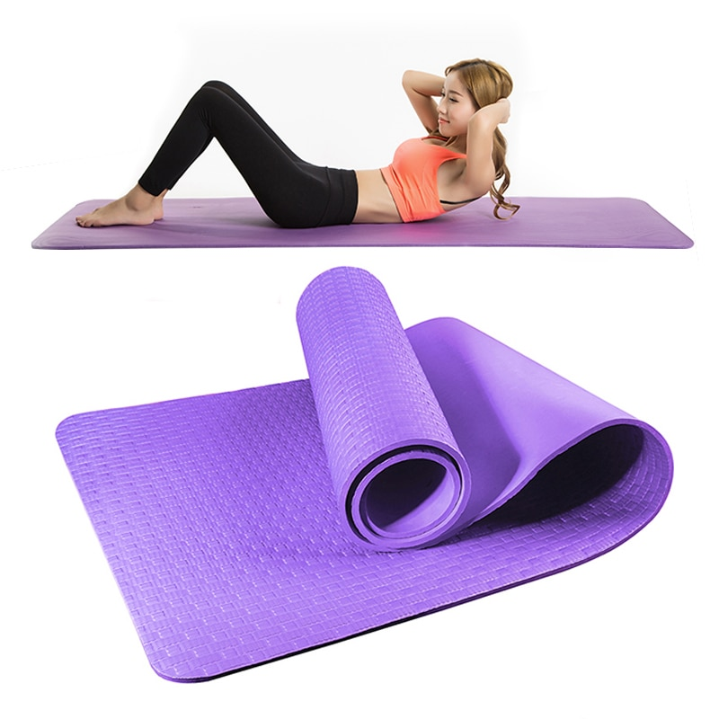 Pilates Yoga Mats Set Non-slip Gymnastics Mats For Women Exercise Mat Bulk Home Gym Fitness Travel S