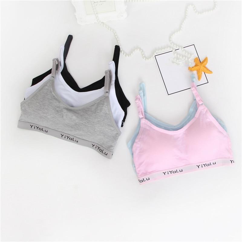 Bh für Kinder Baumwolle Trainings Bh für Mädchen Teens Unterwäsche für Jugendliche Mädchen Dessous Teenager Mädchen Unterwäsche Teen Bhs