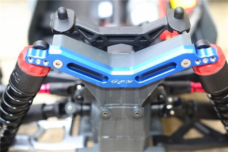 ARRMA 1/10 GRANITE/MOSTER/TRUCK aluminum alloy porous rear shock absorber bracket enlarge