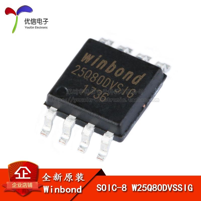 W25q80dvssig flash spi sop-8