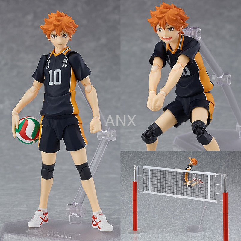 Figura de acción de PVC de Haikyuu Hinata Shoyo, Anime de 13CM, juguetes de modelos coleccionables, voleibol, niño, Kageyama Tobio