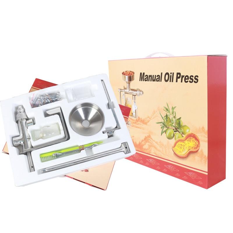 Бытовой ручной пресс для отжима масла, экстрактор масла, арахисовых орехов, семян масла