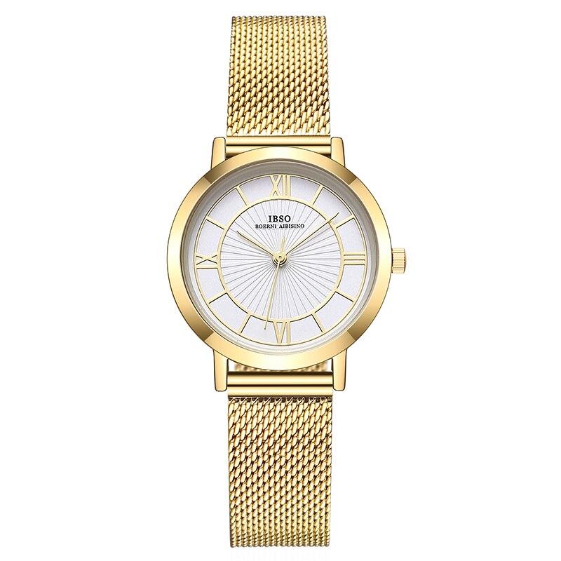 Women's Quartz Watches For Ladies Stainless Steel Strap Wristwatch Luxury Diamond Clock Fashion Causal Female Watch For Women