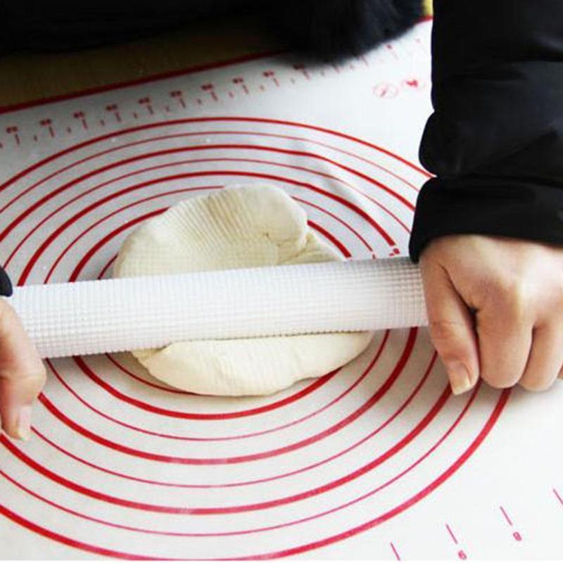 Esterilla de silicona ex-large para hornear a escala para horno esterilla para masa hornear pasta de azúcar enrollable estera de pastelería antiadherente herramienta de cocina