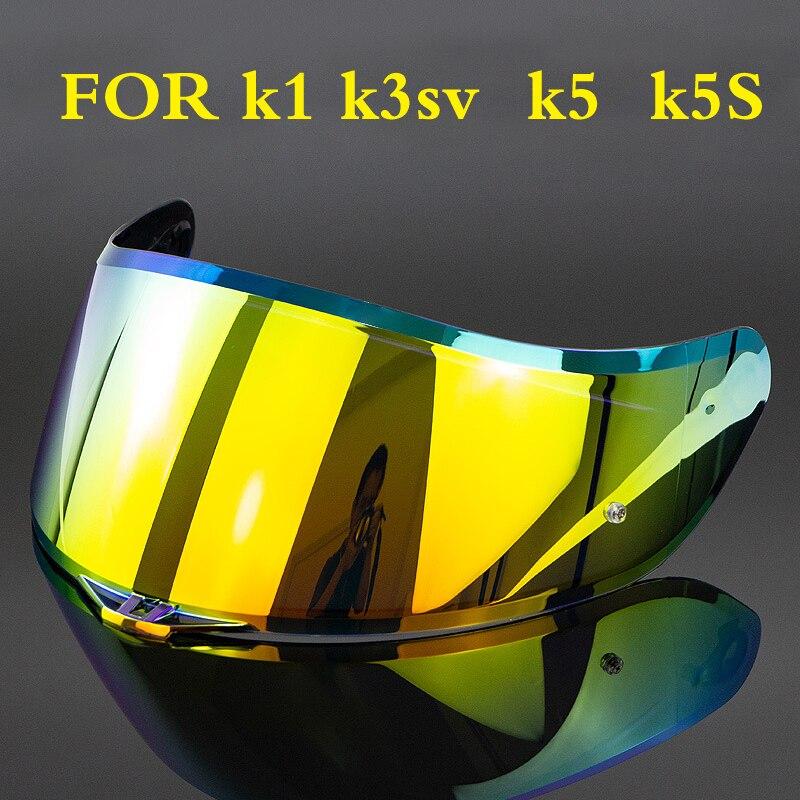 Объектив мотоциклетного шлема для AGV k1 k3sv k5 k5S, козырек для шлема AGV k1 k3sv k5 k5S