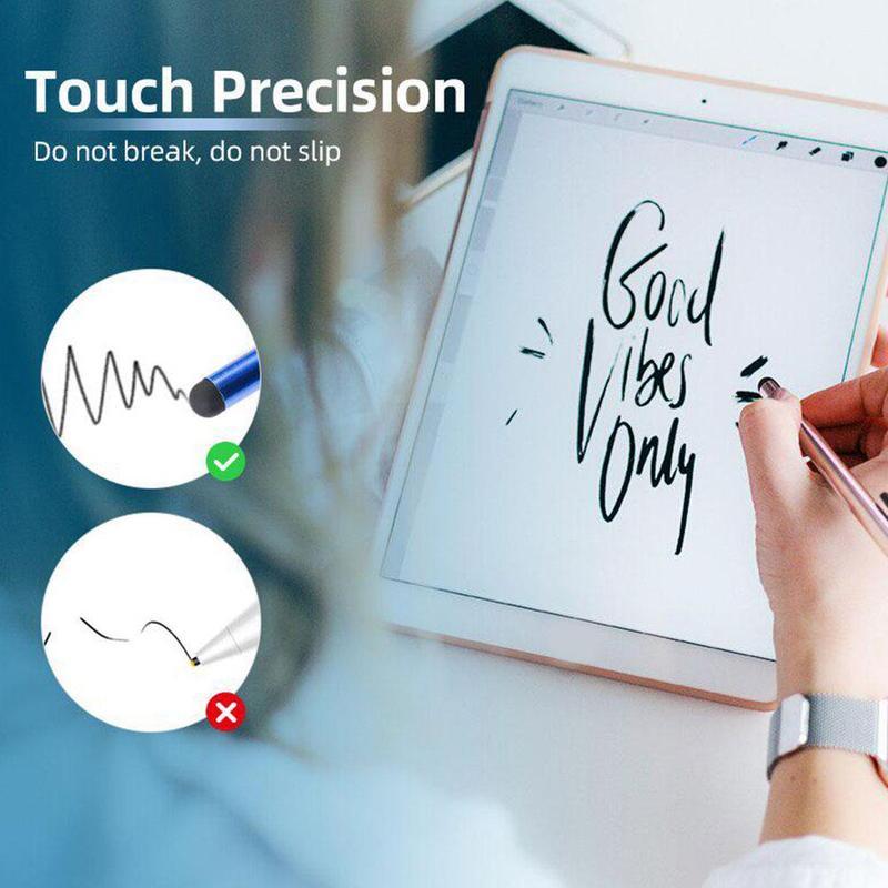 1Pcs Random Color Portable Capacitive Stylus Pen Smartphone For Iphone Screen For Tablet Pro Pen PC
