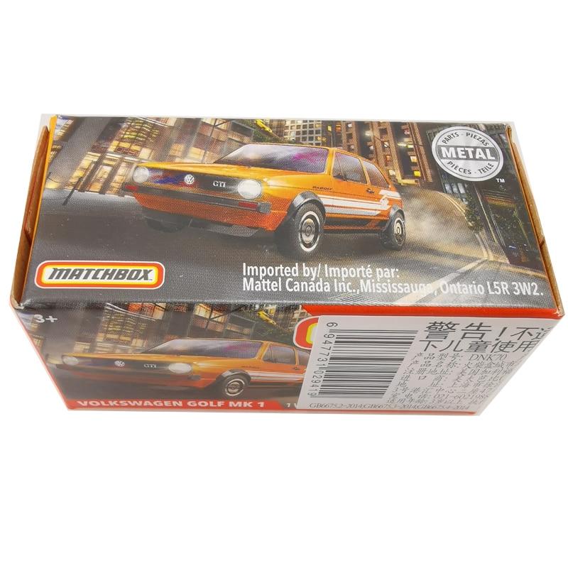 2020 carros matchbox 164 carros volkswagen golf mk 1 metal diecast liga modelo carro de brinquedo veículos