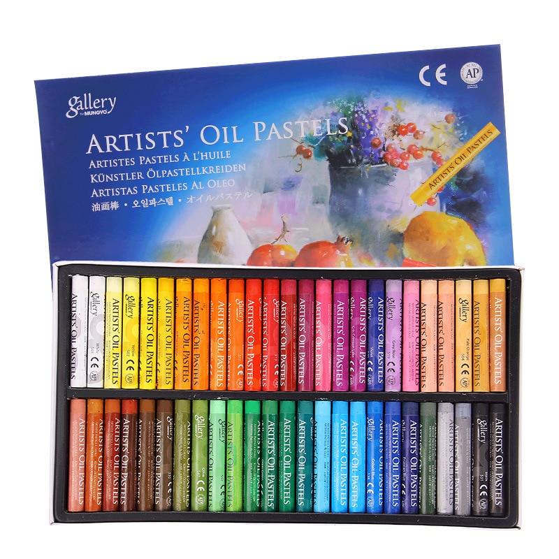 48 цветов масляная пастель для художника, студентов, граффити, мягкая Пастельная ручка для рисования, школьные канцелярские товары для рукод...