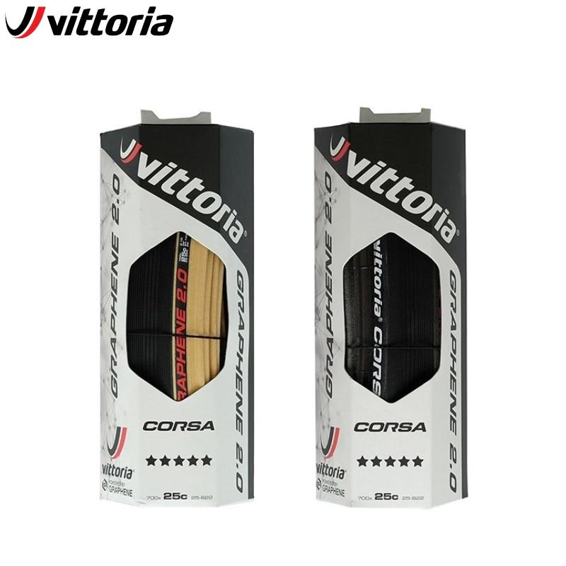 Vittoria Corsa G + competición gráfica 2,0x700 23C/25C/28C Tan 320 TPI 700C bicicleta de carretera neumático bicicleta