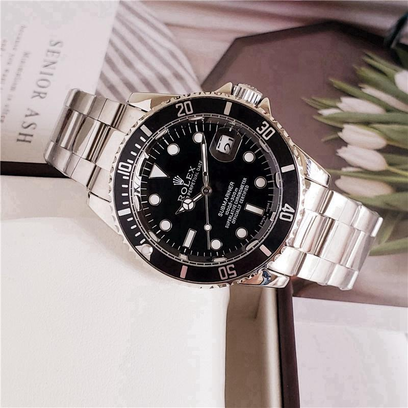 2020 rolex- Fashion Brand Automatic Mechanical Watches Men's Waterproof Skeleton Wrist Watch With wo
