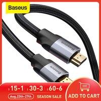 Кабель-Сплиттер Baseus 4K 60Hz, совместимый с HDMI для Xiaomi Mi Box, совместимый с HDMI 2,0, аудио кабель-переключатель, сплиттер для ТВ-приставки PS4