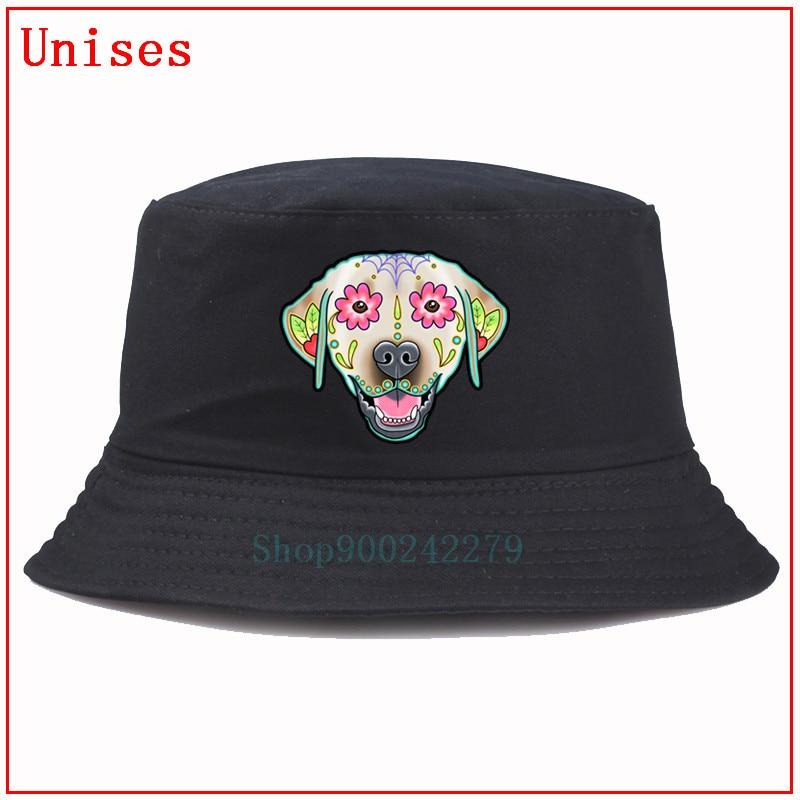 Gorra de pescador de cráneo de perro Sugar, gorra de pescador de hip hop de Panamá para hombres y mujeres, sombrero de pesca, sombrero de espalda para hombre, gorra de verano para mujer