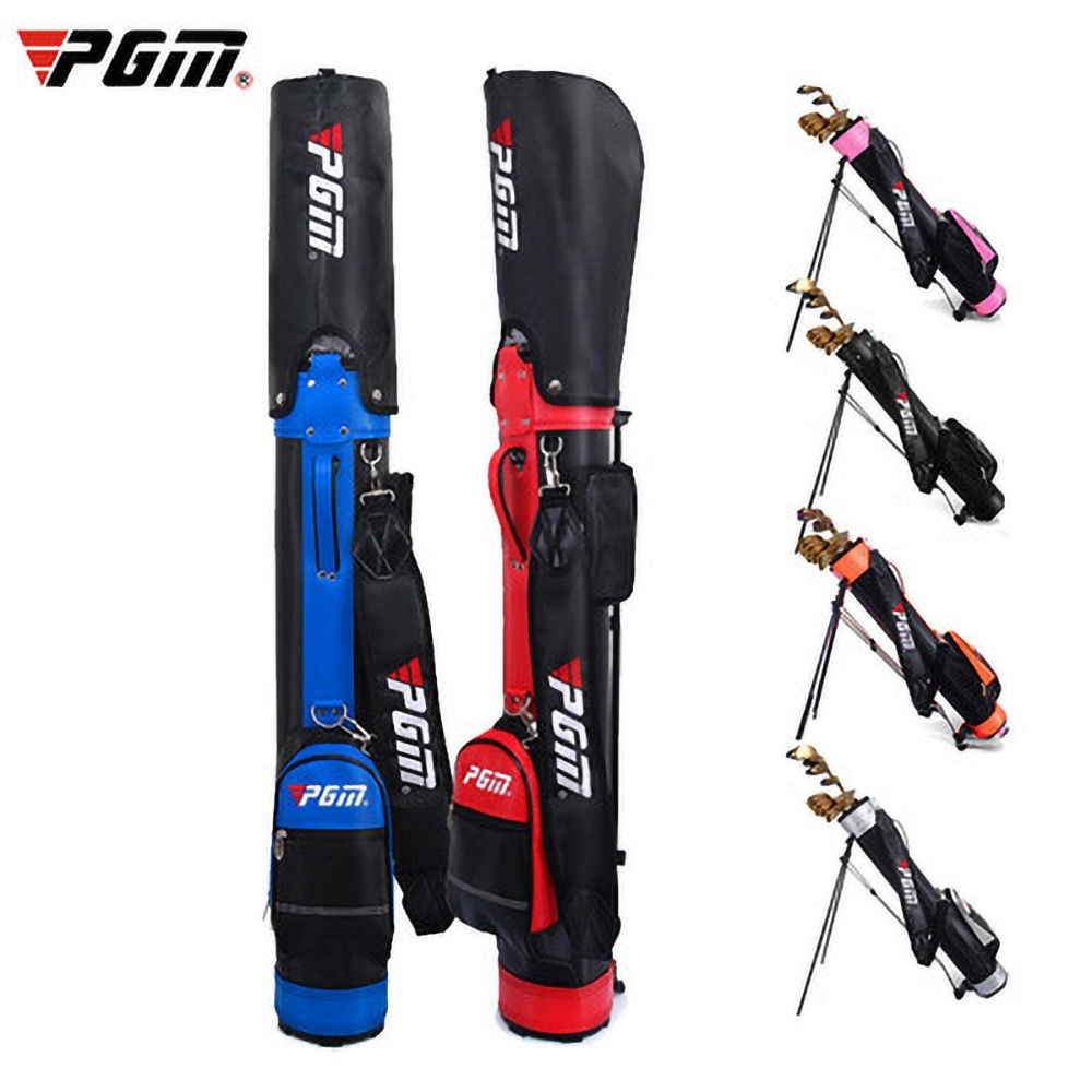 Multifunctional PGM Golf Club Bag Holder Bag Waterproof Nylon Standing Bag Light And Portable HIGH Capacity Can Hold 9 Clubs
