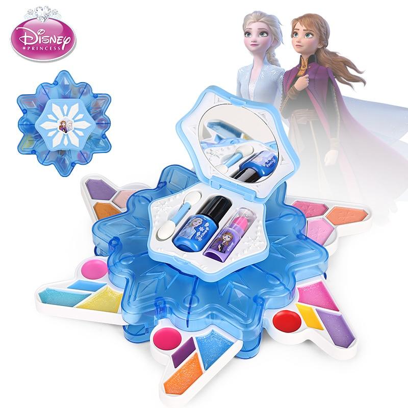 Фото - new Disney girls Frozen II elsa anna snowflake flowers Cosmetics Beauty  make up Set Toy kids Play House girls suitcase Gift подарочный набор disney frozen ii anna house set