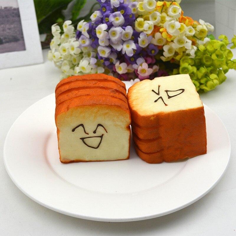 Simulación de pan falso Cute Kawaii tostadas tienda de pasteles escaparate cocina pan decoración modelo de cocina Juguetes