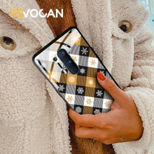 Tartan Plaid Seamless Fabric Texture Cover For OnePlus 7 8 9 7T Pro Flannel Phone Case Solid Glossy