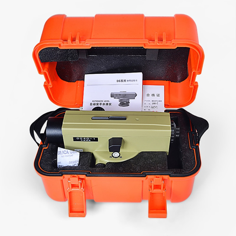 CUPBTNA مستوى ليزر بصري احترافي DS40 40X HD ، مستوى تلقائي ، أدوات قياس هندسية
