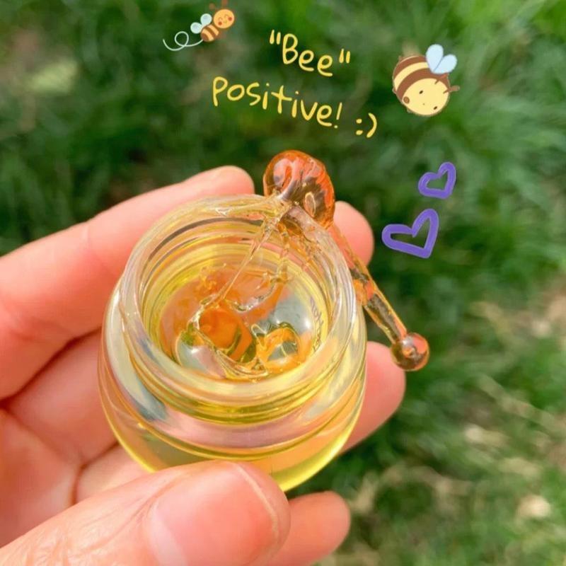 4ml Bee Lip Mask Moisturizing Silky Propolis Lip Mask Jar Lip Repair Mask Lip Repair Bee Night Little Y0T8