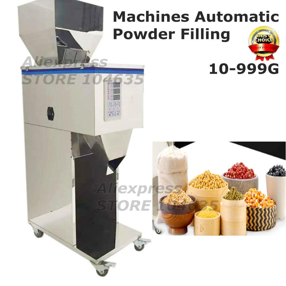 20-999g ماكينة تغليف الشاي ماكينة ملء وعاء المسحوق بيليه ملء تعليب آلة التلقائي ماكينة وزن