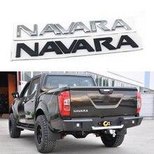 Frontier para Nissan Navara D40 Logo emblemas cola trasera etiqueta trasera letras placa de identificación