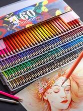 120/160 crayons de couleur couleurs professionnel huile ensemble artiste peinture croquis bois couleur crayon école Art fournitures de bureau
