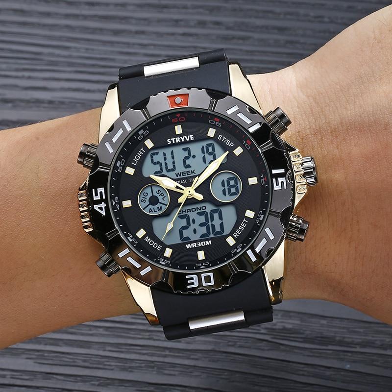 Sport Digital Men Watches Relogio Waterproof Masculino Chronograph Running Electronic Watch For Men