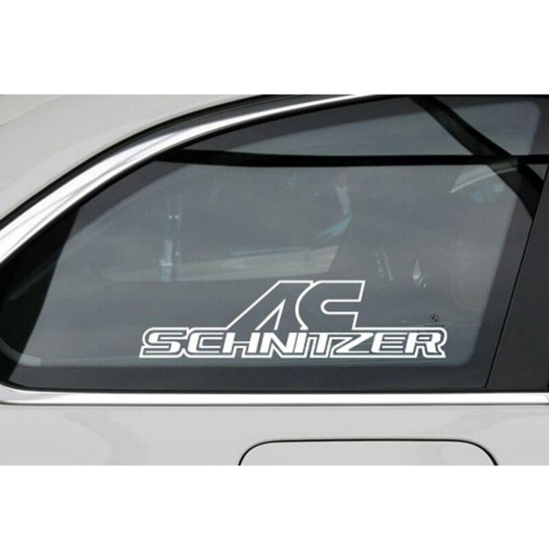 New Styling Car Vinyl Decal Janela Do Carro Decalques Do Corpo Do Carro Adesivos para BMW AC Schnitzer X1 X3 X5 X6 3 série Série 5 7 Series