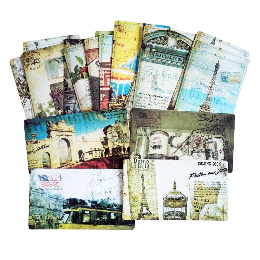 20 шт/упаковка, винтажные романтические открытки, классические открытки с видами Парижа, Набор открыток с памятью, можно отправить по почте, ...