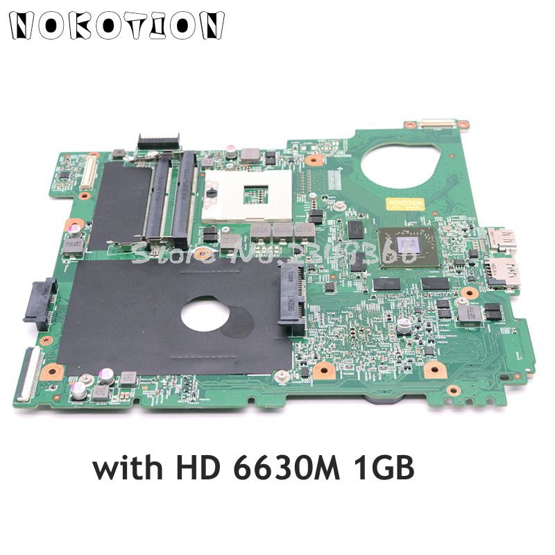 NOKOTION CN-0XV36V 0XV36V اللوحة الرئيسية لديل Vostro 3550 V3550 اللوحة المحمول HM67 DDR3 HD 6630M بطاقة الفيديو 1GB