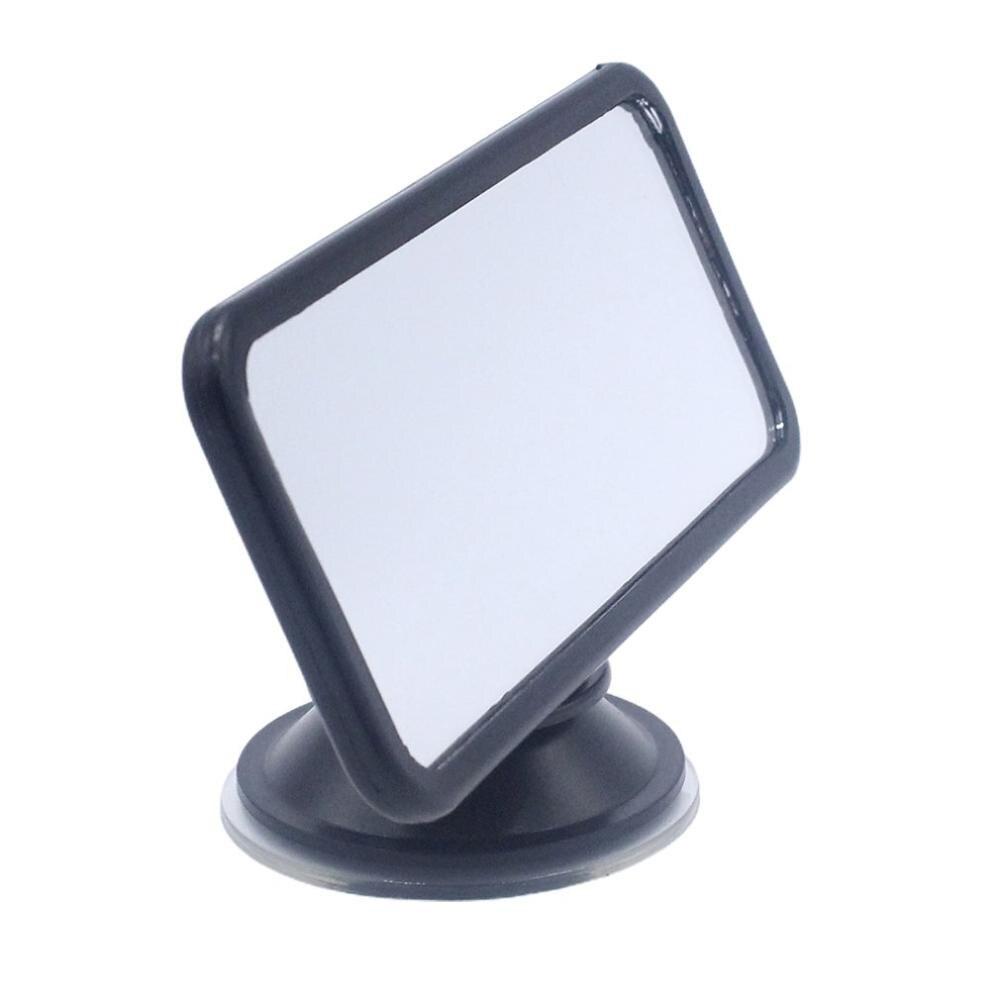Cumbre de espejo retrovisor ventosa pequeño Anti-glare prueba de espejo retrovisor del coche ángulo panorámica espejo retrovisor para coche