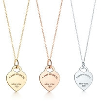 2021 popular heart-shaped luxury fashion necklace for girlfriend gift S925 sterling silver