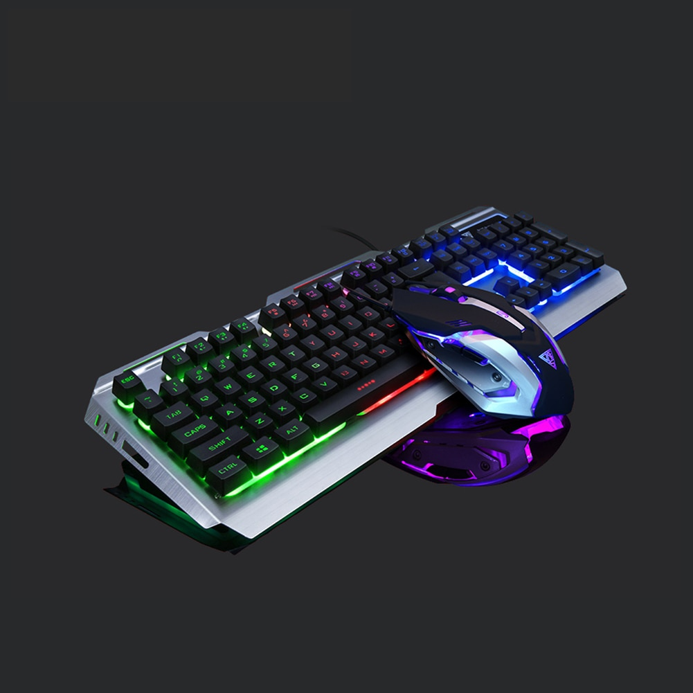 Novo wired gaming teclado mecânico sentimento backlit teclados usb teclado à prova dwaterproof água computador notebook desktop jogo teclados