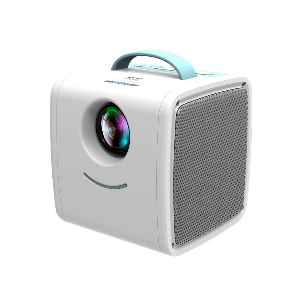 MINI proyector Q2 de 700 lúmenes para niños, regalo educativo para niños, proyector portátil para padres e hijos, Mini proyector de Casa LED para TV, navidad