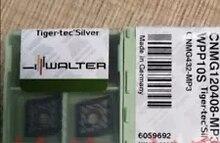 10PCS 월터 카바이드 삽입 CNMG120408-MP3 WPP10S