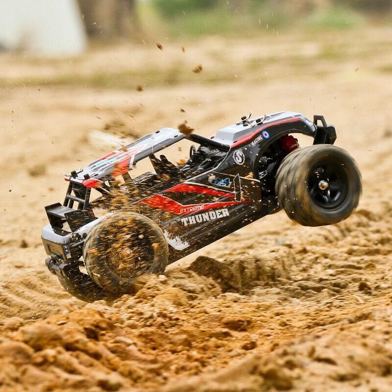 RCtown 40+MPH 1/18 Scale RC Car 2.4G 4WD High Speed Fast Remote Controlled Large TRACK HS 18311/18312 RC Car Toys For Kid's Gift enlarge