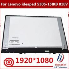 Originele 15.6 Full Fhd Ips Lcd-scherm Met Front Glas Montage 5D10R06098 Voor Lenovo Ideapad 530S-15IKB 81EV