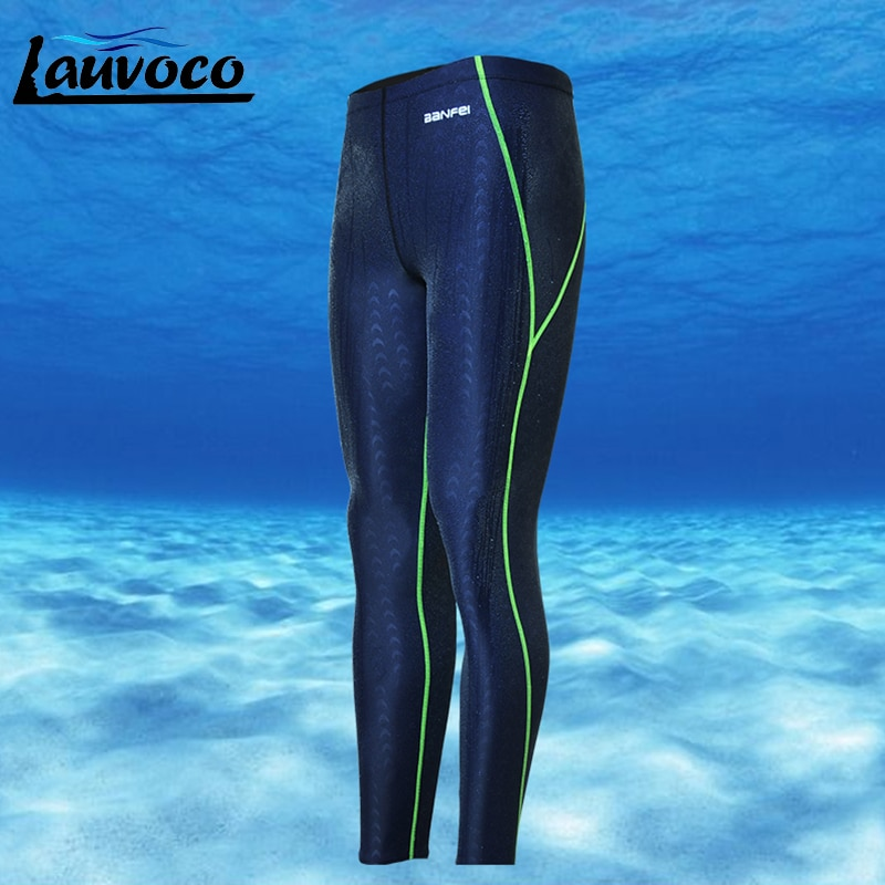 Bañadores profesionales para hombre, bañadores, pantalones cortos de talla grande 3XL, pantalones largos de secado rápido, bañador para hombre